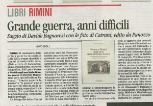 Libro prima guerra mondiale Il Corriere 17.12.2015