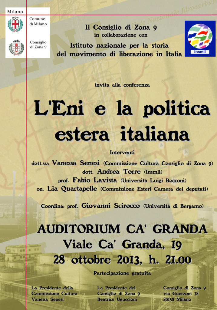 Post thumbnail of L'Eni e la politica estera italiana