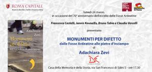 24 marzo invito A.Zevi