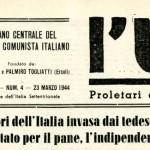 L'Unità, 23 marzo 1944