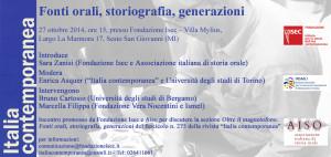 Italia Contemporanea n. 275