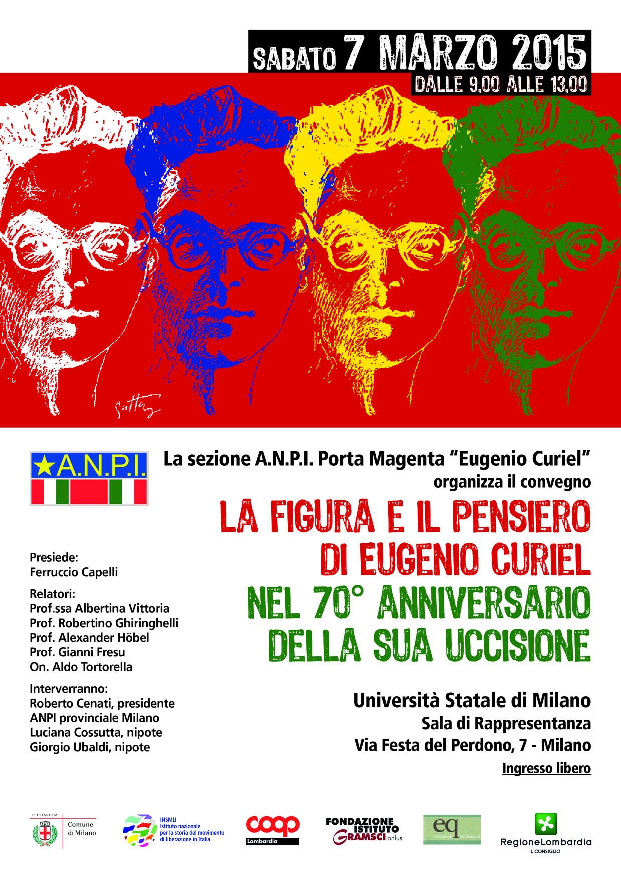 Post thumbnail of La figura e il pensiero di Eugenio Curiel