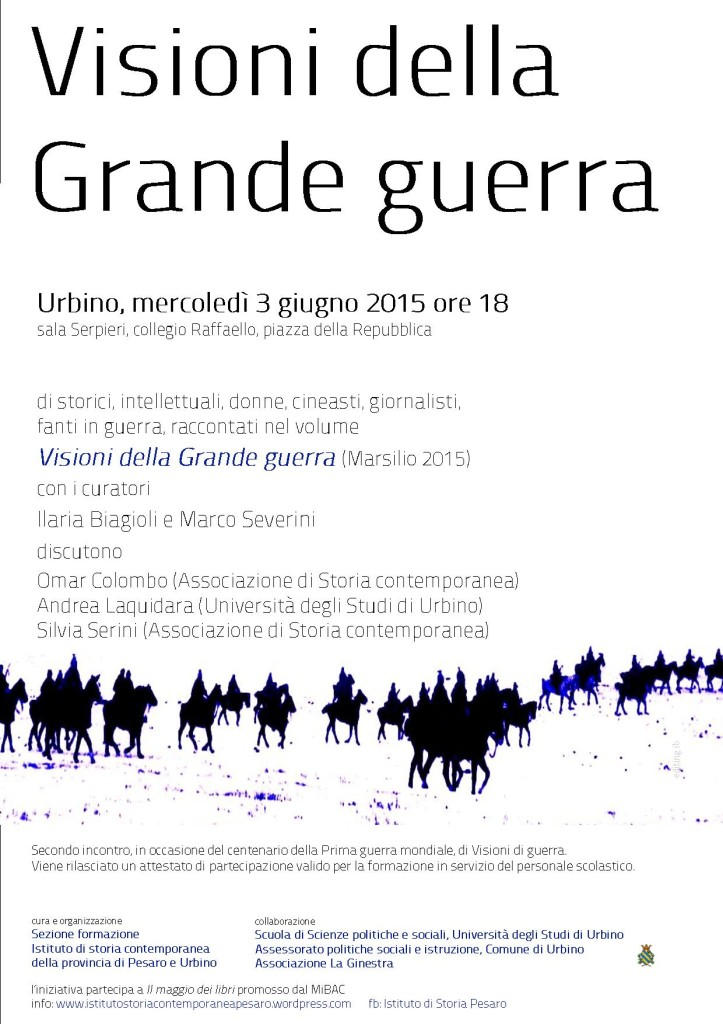 03.06.2015 Visioni Grande guerra