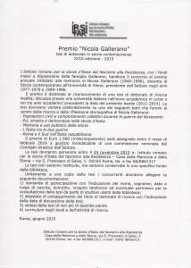 BANDO GALLERANO