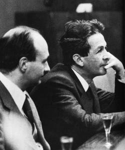 Gianni Cervetti con Enrico Berlinguer