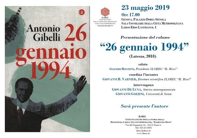 depliant-invito-presentazione-libro-a-gibelli-26-gennaio-1994