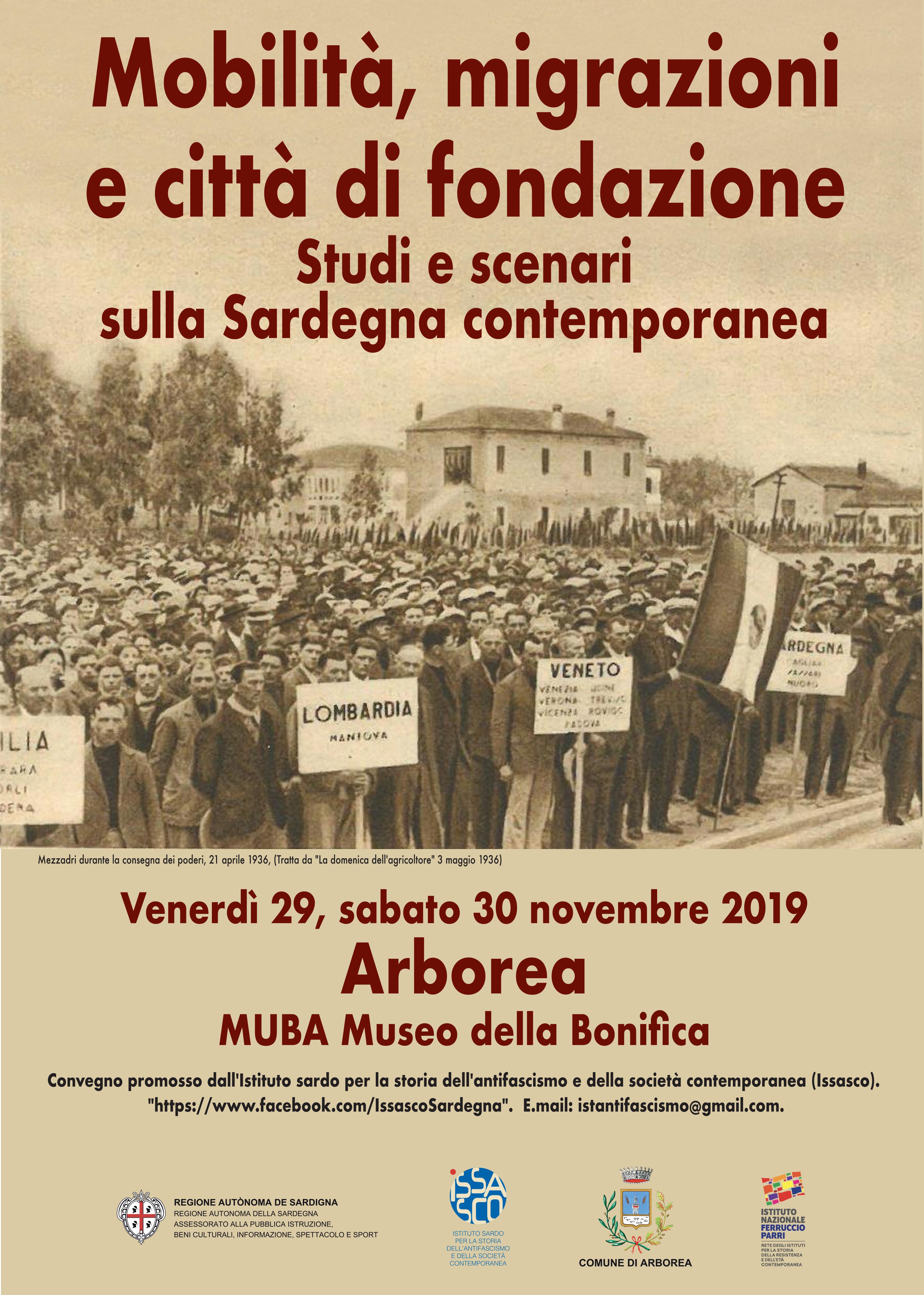 Manifesto convegno Issasco Arborea